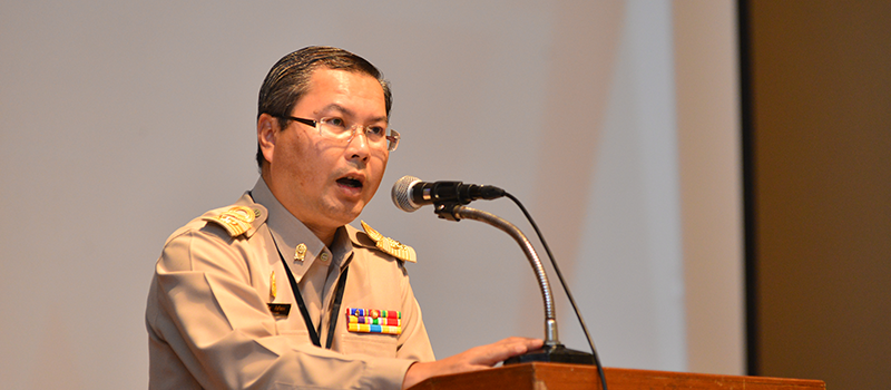 Dr. Suphat Champathong, the Secretary General of the Office of Higher Education Commission, Ministry of Education of Thailand